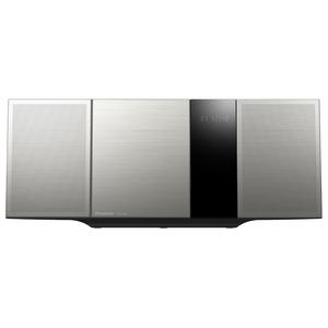 Microsistem PANASONIC SC-HC395EG-S, 40W, FM, CD, USB, Bluetooth, NFC, argintiu