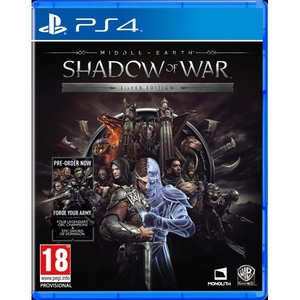 Middle-earth: Shadow of War - Silver Edition PS4