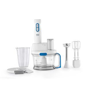 Mixer vertical BEKO HBG5100W, 1.5l, 1000W, 1 treapta viteza, alb-albastru deschis
