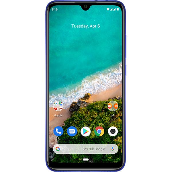 Telefon XIAOMI Mi A3, 128GB, 4GB RAM, Dual SIM, Note just Blue