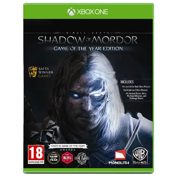 Middle-earth: Shadow of Mordor - GOTY Xbox One