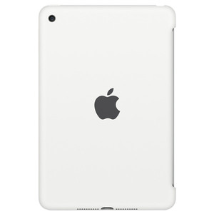Husa Silicone Case pentru APPLE iPad mini 4, MKLL2ZM/A, silicon, White