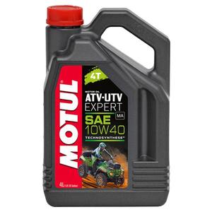 Ulei moto ATV-UTV MOTUL Expert 4T, 10W40, 4l