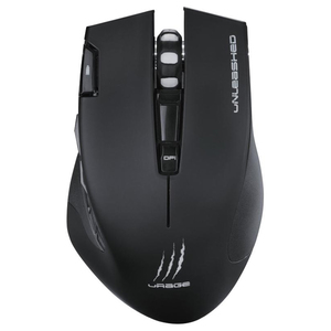Mouse Gaming Wireless HAMA uRage Unleashed, 4000 dpi, negru