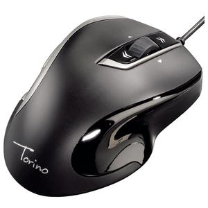 Mouse optic HAMA Torino, cu fir, USB, negru