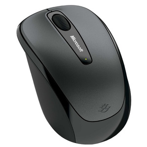 Mouse Wireless MICROSOFT MOBILE 3500 GMF-00008, 1000dpi, negru