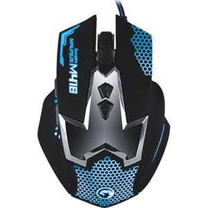 Mouse Gaming MARVO M418, 2400 dpi, albastru-negru
