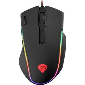 Mouse gaming NATEC Genesis Krypton 700, RGB, 7200dpi, Black