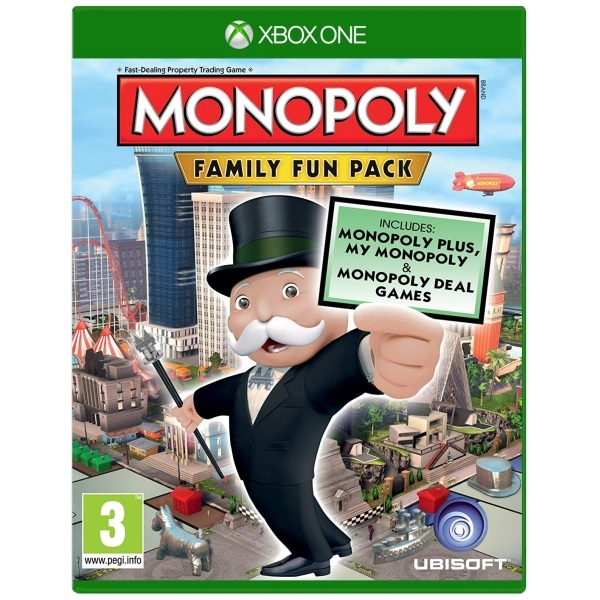 Monopoly Family Fun Pack Xbox One