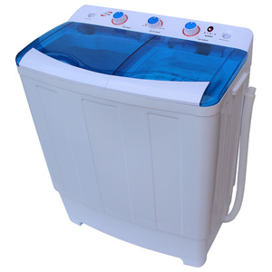 Masina de spalat rufe semiautomata MYRIA MYR78, spalare 7.8kg, stoarcere 5kg, alb