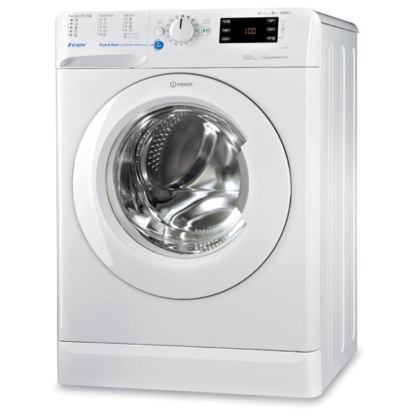 Masina de spalat frontala INDESIT BWE 81284X W EU, 8kg, 1200rpm, A+++, alb