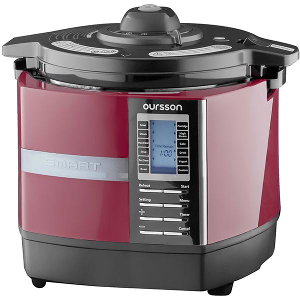 Multicooker OURSSON Versatility MP5005PSD/DC, 1200W, 5l, 45 de programe, visiniu