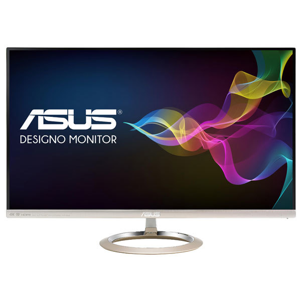 "Monitor LED AH-IPS ASUS MX27UC, 27"", 4K UHD, Icicle Gold - Black"