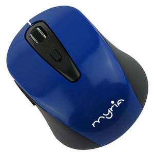 Mouse Wireless MYRIA MY8515BL, 1600 dpi, albastru