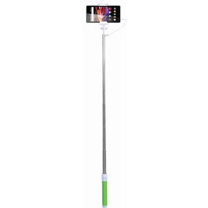 Selfie stick MYRIA MY9021, cu fir, green