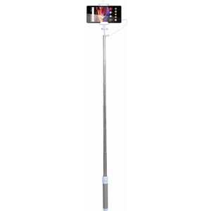 Selfie stick MYRIA MY9021, cu fir, gray