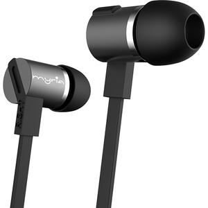 Casti in-ear cu microfon MYRIA MY9026, Black