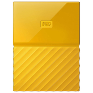 Hard Disk Drive WD My Passport WDBYFT0040BYL, 4TB, USB 3.0, galben