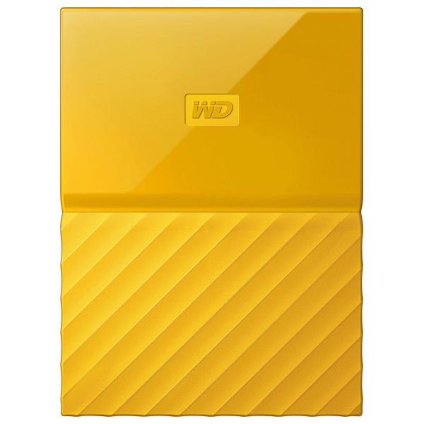 Hard Disk Drive WD My Passport WDBS4B0020BYL, 2TB, USB 3.0, galben