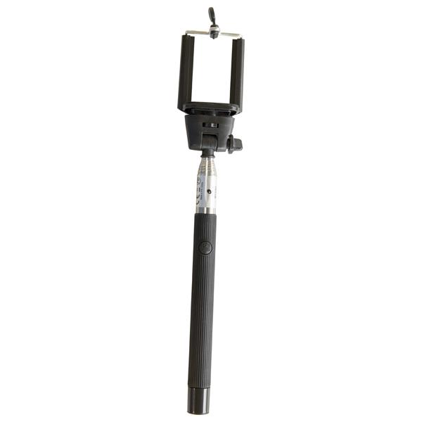Selfie stick MYRIA MY2261, Bluetooth, negru