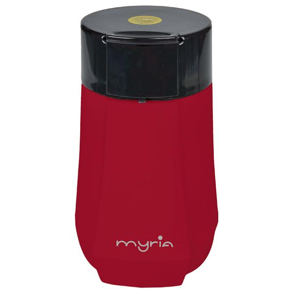Rasnita de cafea MYRIA MY4145RD, 130W, rosu
