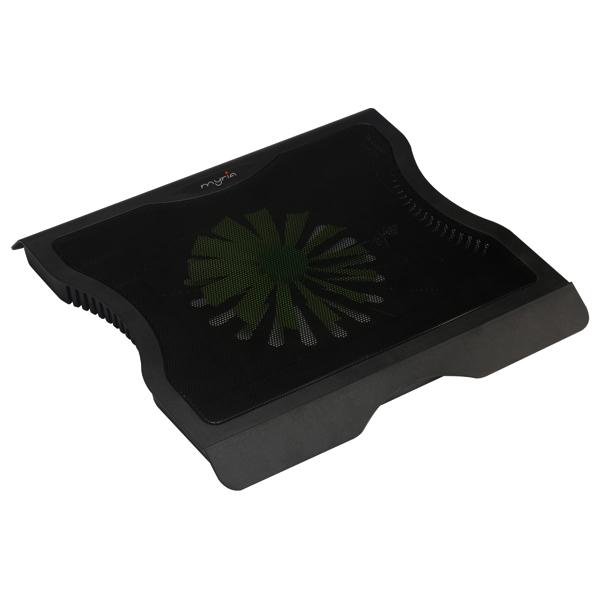 """Suport laptop MYRIA MY8050, 17"""", negru"""