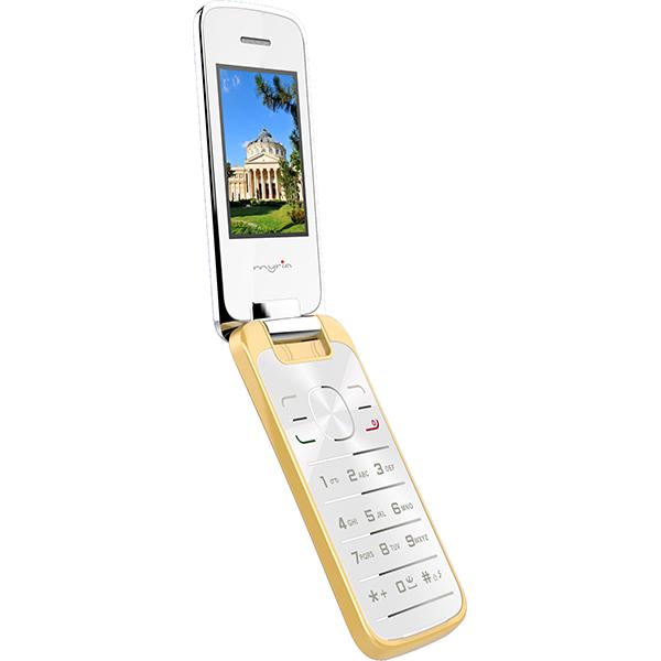 Telefon mobil Dual Sim MYRIA MY9038, Gold