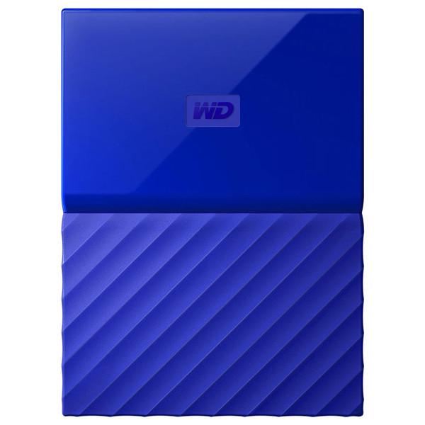 Hard Disk Drive WD My Passport WDBYFT0020BBL, 2TB, USB 3.0, albbastru