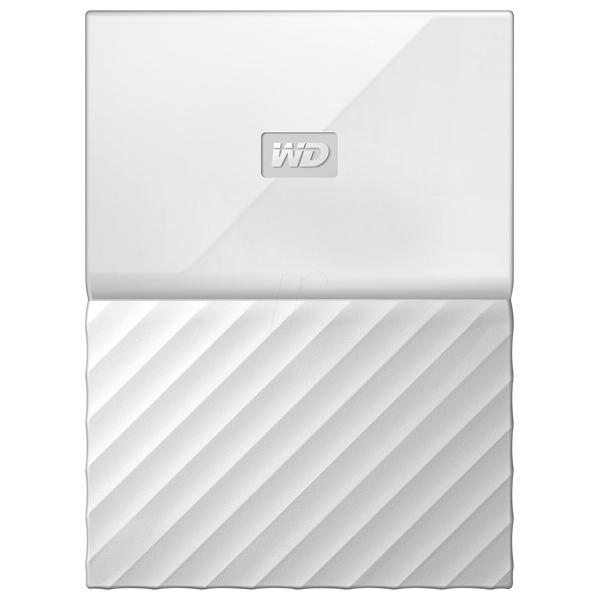 Hard Disk Drive WD My Passport WDBYFT0040BWT, 4TB, USB 3.0, alb