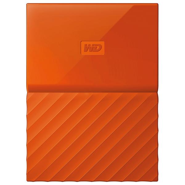 Hard Disk Drive WD My Passport WDBYFT0040BOR, 4TB, USB 3.0, portocaliu