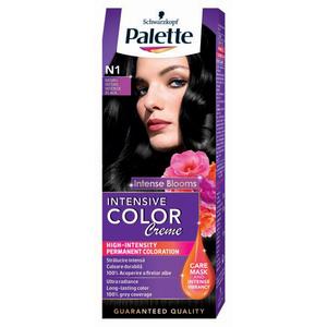 Vopsea de par PALETTE Intensive Color Creme, N1 Negru, 110ml