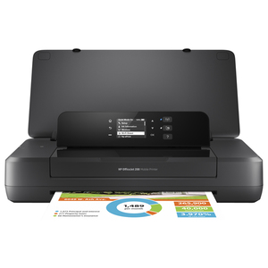 Imprimanta portabila HP OfficeJet 202, A4, USB, Wi-Fi