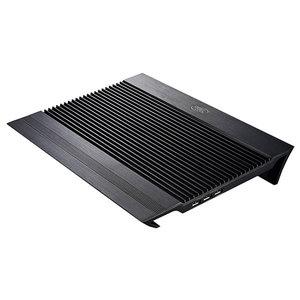 "Suport laptop DEEPCOOL N8, 17"", aluminiu, negru"