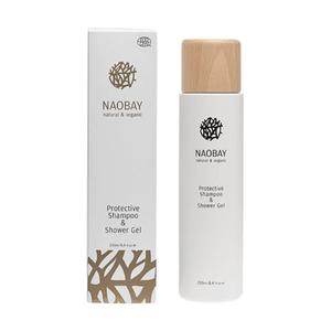 Sampon si gel de dus revitalizant Naobay, cu extract de Musetel, 250ml