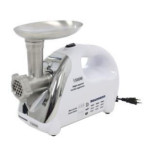 Masina de tocat carne NAUMANN NM-120, 1.5kg/min, 1500W, alb