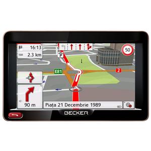 Sistem de navigatie GPS BECKER Ready 5 Europa, TFT, 5 inch, 4GB, microSD, TMC