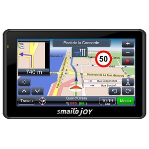 Sistem de navigatie GPS SMAILO Joy, Mediatek 3351C 468MHz, 4.3 inch, 128MB, microSD, USB, Harta Europa