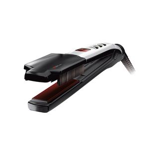 Placa de indreptat parul profesionala VALERA Swiss'X Super Brush&Shine 100.20/IS, 230°C, negru-gri