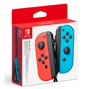 Pereche Joy-Con NINTENDO Switch NSW, neon red/ blue