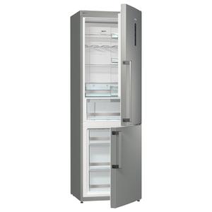 Combina frigorifica No Frost GORENJE NRC6192TX, 307 l, 185 cm, A++, inox