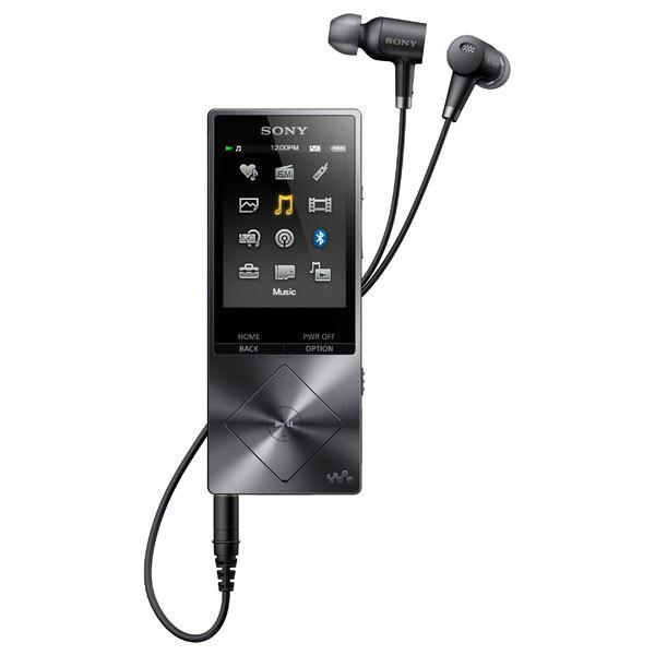 MP4 player SONY NW-A27HNB, 64GB, Charcoal Black