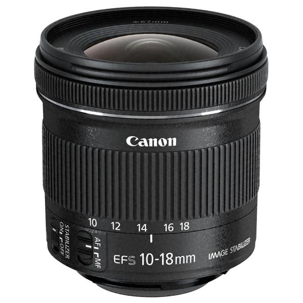 Obiectiv foto CANON EF-S 10-18mm f/4.5-5.6 IS STM
