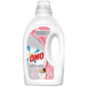 Detergent lichid OMO Ultimate Sensitive, 1.4l, 20 spalari