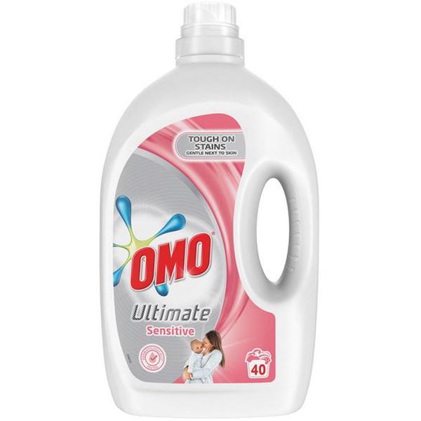 Detergent lichid OMO Ultimate Sensitive, 2.8l, 20 spalari
