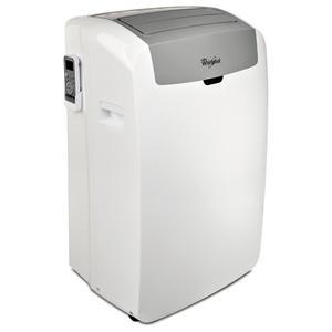 Aparat de aer conditionat portabil WHIRLPOOL PACW9COL, 9.000BTU/h, alb