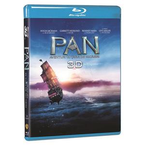 Pan - Aventuri in tara de nicaieri Blu-ray 3D