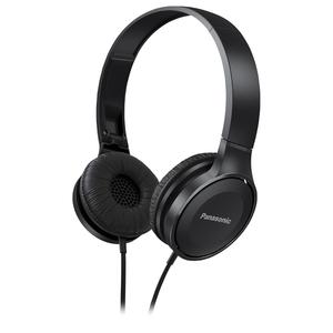 Casti PANASONIC RP-HF100E-K, Cu Fir, On-Ear, negru