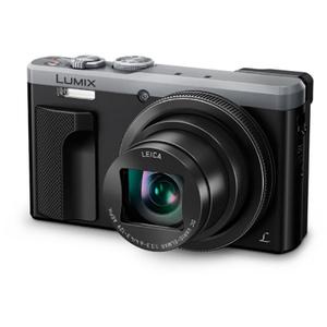 Camera foto PANASONIC DC-TZ80EP-S, 3 inch, filmare 4K, argintiu