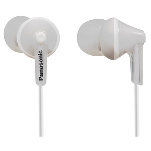 Casti PANASONIC RP-HJE125EW, Cu Fir, In-Ear, alb