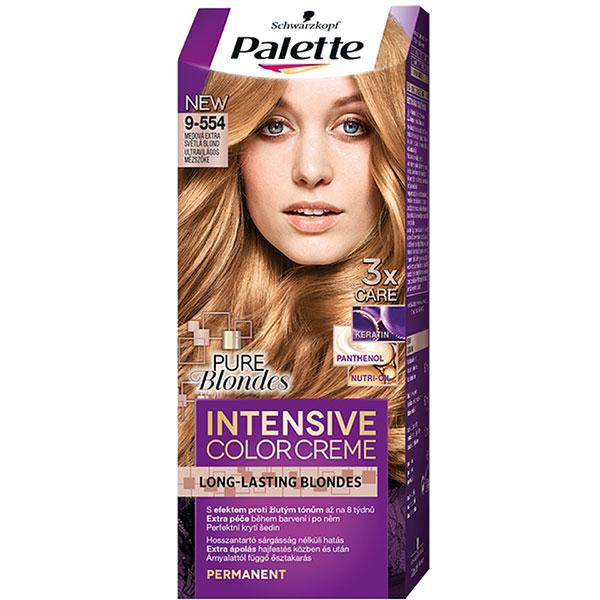 Vopsea De Par Palette Intensive Color Creme 9 554 Blond Miere 110ml